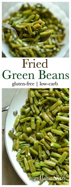 Easy to make and delicious Fried Green Beans. A family favorite. Made with just a few ingredients. Gluten-free, dairy-free, low-carb. THM (FP)