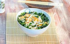Tofu-riisipastakeitto