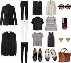 Style - Minimal + Classic: basic wardrobe