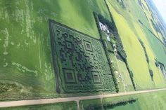 (Dan) Not just a QR code - a maze as Picture Cloud, Across The Universe, Maze, Cool Photos, Amazing Photos, Worlds Largest, Clouds, Cool Stuff, Alberta Canada