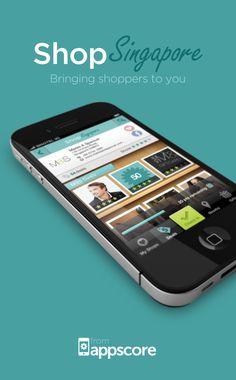 Shop Singapore iPhone application design by Edamame, via Behance    Check out www.edamamedesign.com