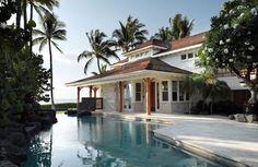 Maison de vacances exotiques hawaïenne