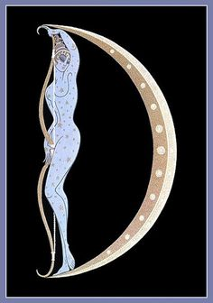 d Erte's Naughty Alphabet suite 1927-67 by mpt.1607, via Flickr