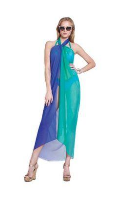 5afd206add Gottex Rainbow Goddess Pareo - Seafoam - One at Amazon Women's Clothing  store: Fashion Swimwear Cover Ups