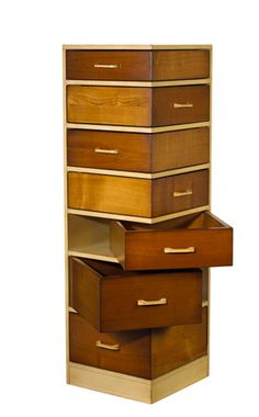 French Heritage Avenue Empiles Corner Chest of Drawers