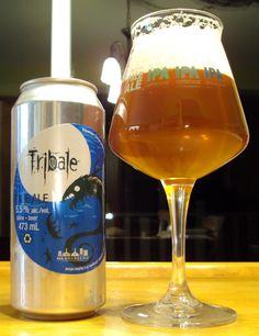 Tribale Pale Ale - MaBrasserie via craftbeerquebec.ca #microbrasserie #bière #paleale #ale #beer #craftbeer #buvezfrais #drinkcraft #boirelocal #houblons #americanpaleale