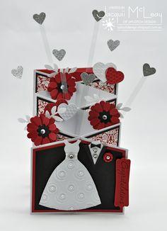 Splotch Design - Jacquii McLeay - Stampin Up Cascade Birthday Card