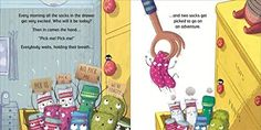 Smart Socks, Linnet, Crazy Socks, Children's Picture Books, Very Excited, Funny Stories, Naive, New Pictures, Good News