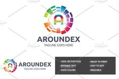 Aroundex (A Letter) Logo by tkent on @creativemarket