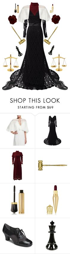 """""""Hakari Mikagami-Ace Attorney"""" by conquistadorofsorts ❤ liked on Polyvore featuring ERIN Erin Fetherston, Christian Louboutin, Aerosoles and Sagebrook Home"""