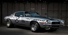 #chevrolet #camaro #chevy #z28 #muscle #silver #1970 #car #cars