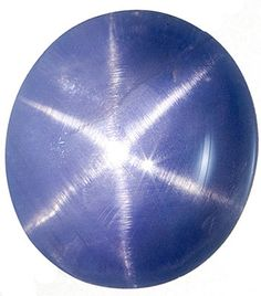 Genuine Blue Star Sapphire Loose Gemstone, Oval Cut, 12.8 x 11.5 mm, 10.7 Carats at BitCoin Gems