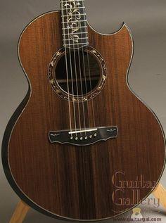 Ryan Guitar: Used Sinker Redwood Top Nightingale Grand Soloist