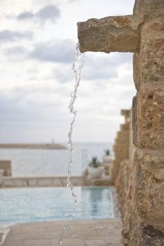 Luxurious swimming pool. Marrying in Puglia.