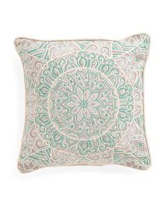 20x20 Medallion Pillow