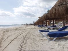 The beach at Secrets Capri Riviera Cancun, Mexico
