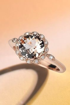 engagement rings in rose gold 4