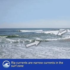 Everything You Need to Know About Rip Currents. : educationalgifs