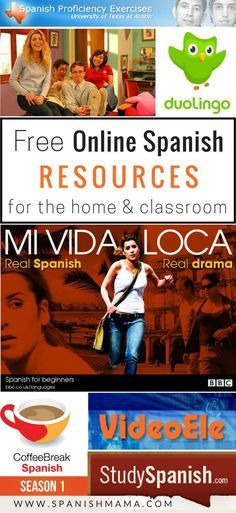 Free Online Resources for Learning Spanish. My favorite websites and apps for online videos, activities, and series for Spanish learners.