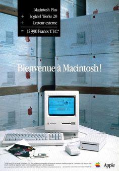 Digital History, Old Technology, Der Computer, Apple Prints, Old Computers, Vaporwave, Print Ads, Vintage Ads, Iphone Products