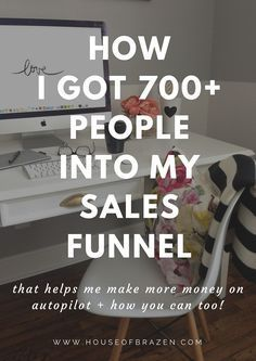 How I Got 700+ People To Enter My Sales Funnel (+ Free Sales Funnel Marketing Strategy Sheet)