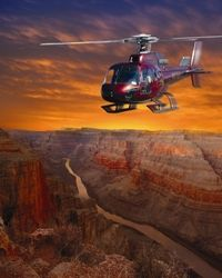 Take the ultimate Grand Canyon tour! You'll fly from Las Vegas to the Grand Canyon by helicopter, cruise the Colorado River, then spend time at the West Rim. You also have the option of choosing the Grand Canyon Skywalk for 360-degree panoramic views. www.partner.viator.com/en/11907/tours/Las-Vegas/Ultimate-Grand-Canyon-4-in-1-Helicopter-Tour/d684-2280LI_5H