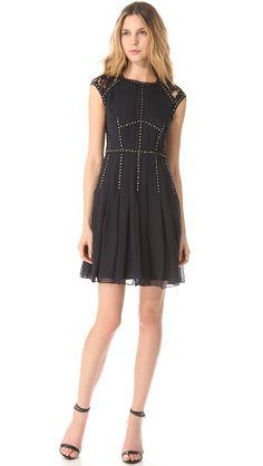 Rebecca Taylor Silk Lace T Dress