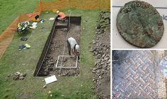 Farmhouse owner discovers 'well-preserved' Roman villa in his grounds