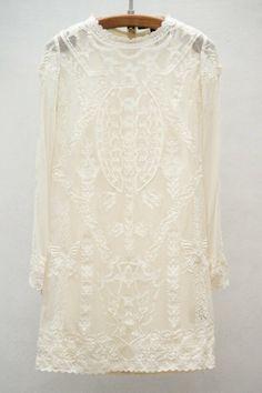 Isabel Marant / White Lace. (instagram: the_lane)