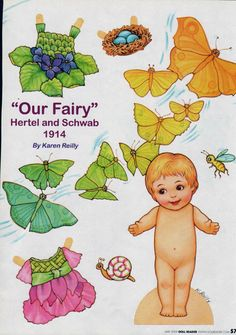 Fairy by Karen Reilly from Doll Reader magazine, May 2009