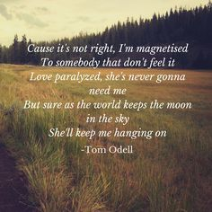 Magnetised - Tom Odell LOVE THIS SONG!!!!!