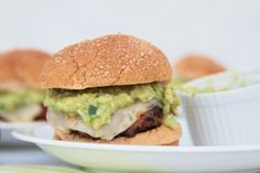 Guacamole turkey burger - Life with the Champions