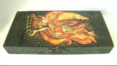 "Декупаж - Сайт любителей декупажа - DCPG.RU   «Живопись и графика в декупаже» №22: ""Муза"" Click on photo to see more! Нажмите на фото чтобы увидеть больше! decoupage art craft handmade home decor DIY do it yourself painting print stencil acrylic paint varnish"