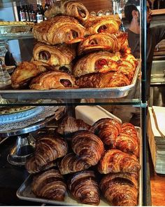 @nikkireiss is hitting up @panthercoffee in Miami and sweet mother of flaky pastries do those croissants look amazing. #artbasel by bonappetitmag