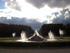 Fountains at Herreninsel Königsschloss