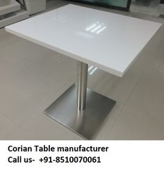 We Are Manufacturer Of All Kind Of Corian Solid Surface Product Like - Corian restaurant table tops
