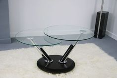 Twist coffee table in Black