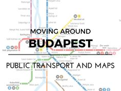 Moving around Budapest – Public transport and maps