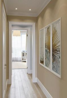 Light and modern interior for a young . Decor, Hallway Paint Colors, Paint Colors For Home, Room Colors, Home Room Design, Hallway Paint, Hallway Designs, Home Decor, Home Deco