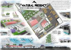Landscape design proposal and illustration. Behance Net, Landscape Design, Illustration, Concept, Graphic Design, Nature, Ideas, Art, Art Background