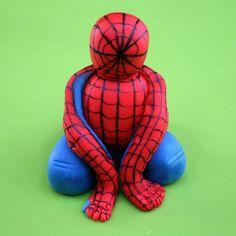 Spiderman Cake Topper Tutorial | Marvel Cupcake Decorations