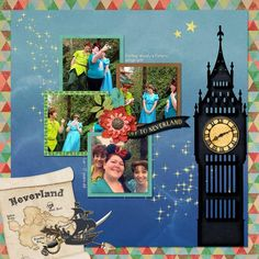 {Off To Neverland} Digital Scrapbook Kit by Magical Scraps Galore, available at Gingerscraps and The Digichick  http://www.thedigichick.com/shop/Off-To-Neverland-bundle.html  http://store.gingerscraps.net/Off-To-Neverland-bundle.html #magicalscrapsgalore