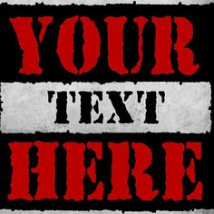 Raw Is War - Your Text Here