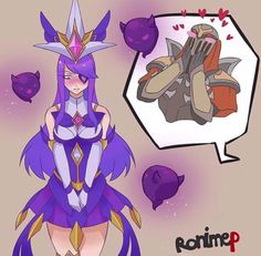 Star Guardian Syndra and Zed