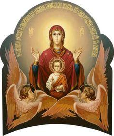 Ως θυμίαμα η προσευχή της Παναγίας ανεβαίνει στο Θρόνο του Θεού.
