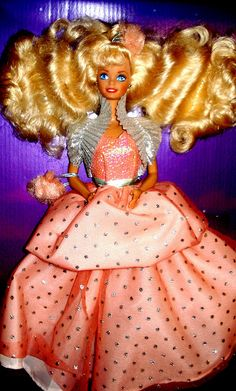 Barbie - Peach Pretty Barbie (I remember her, but I don't have her)
