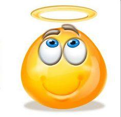 Emoji Pictures, Emoji Images, Funny Pictures, Symbols Emoticons, Funny Emoticons, Funny Emoji Faces, Cute Emoji, Naruto Vs Sasuke, Angel Emoticon
