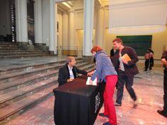 Orhan Pamuk, Nobelprijswinnaar literatuur, Passa Porta Festival Brussel 2011