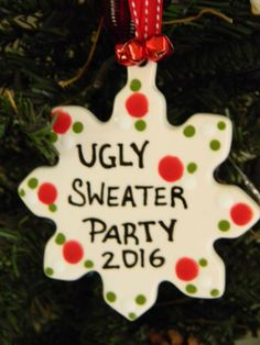 the office christmas ornaments. Ugly Sweater Contest PARTY Christmas Ceramic Ornament Award For The Awful Office Party 2016 Ornaments H