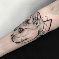 Edgy Recreations of Mythical Creatures Emerge from Blackwork Tattoos - My Modern Met
